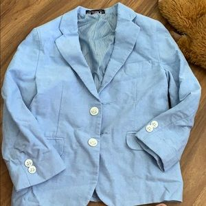 Tommy Hilfiger Boys sport coat blue size 5